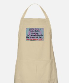 """George Soros Is Buying"" BBQ Apron"