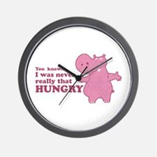 Unique Hungry hungry hippo Wall Clock