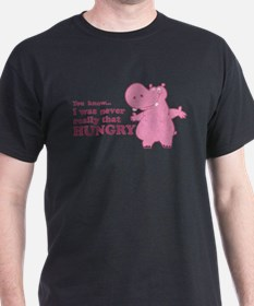 Cute Hungry hungry hippo T-Shirt