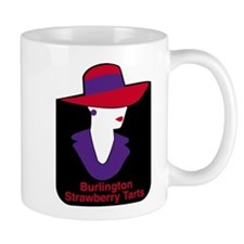 Burlington Strawberry Tarts Art Large Mugs