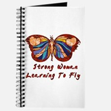 Strong Woman Learning To Fly Journal