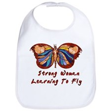 Strong Woman Learning To Fly Bib