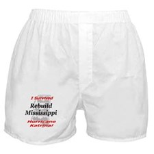 Rebuild Mississippi Boxer Shorts