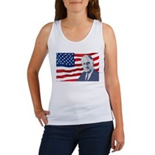 F.D.R. and Flag Women's Tank Top