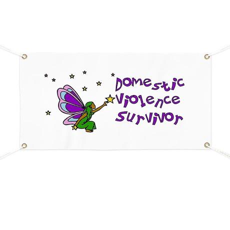 Domestic Violence Survivor Banner