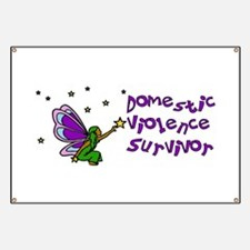 Domestic Violence Survivor Banner