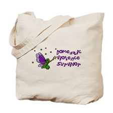 Domestic Violence Survivor Tote Bag
