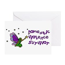 Domestic Violence Survivor Greeting Card