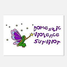 Domestic Violence Survivor Postcards (Package of 8