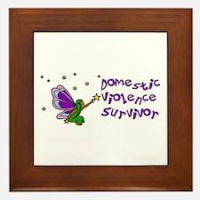 Domestic Violence Survivor Framed Tile