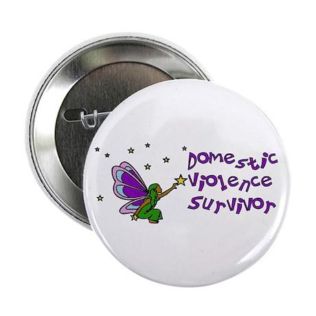 Domestic Violence Survivor Button