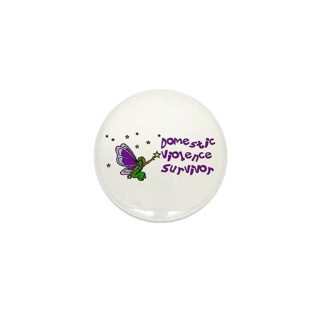 Domestic Violence Survivor Mini Button