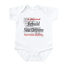 Rebuild New Orleans Infant Creeper