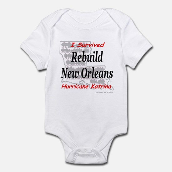Rebuild New Orleans Infant Creeper