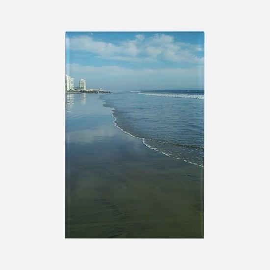 Coronado Beach Rectangle Magnet