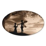 A Promise Oval Sticker