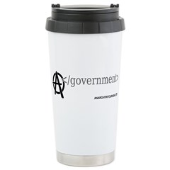 End Government Stainless Steel Travel Mug