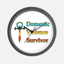 Domestic Violence Survivor Wall Clock