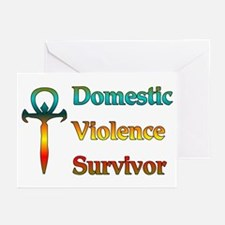 Domestic Violence Survivor Greeting Cards (Package