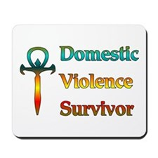 Domestic Violence Survivor Mousepad