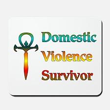 Domestic Violence Survivor Mousepad