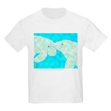 Manatee Pair Kids T-Shirt