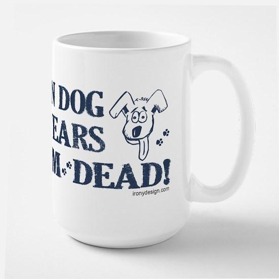 Dog Years Humor Large Mug