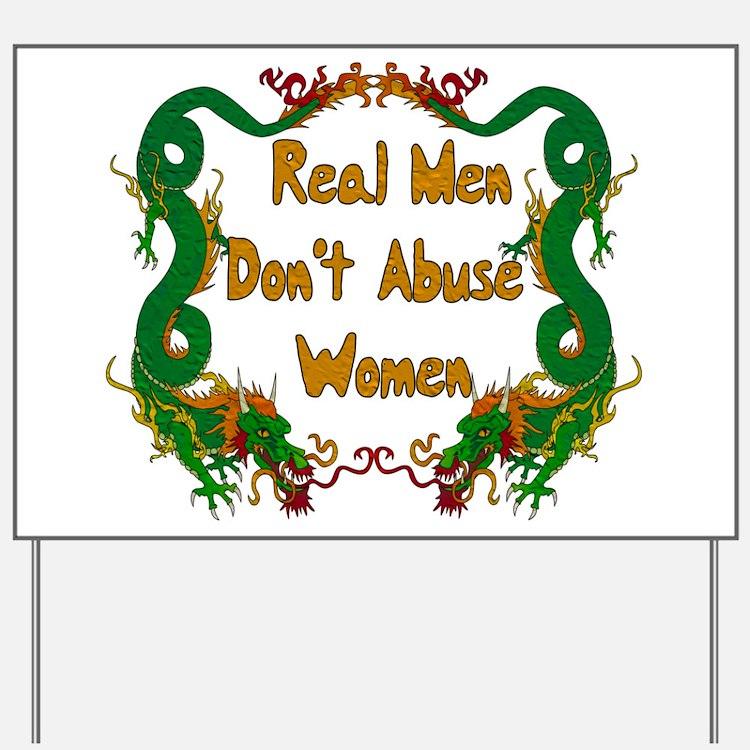 Ending Domestic Violence Yard Sign