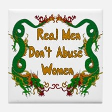 Ending Domestic Violence Tile Coaster
