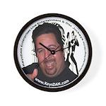 KeysDAN Logo and Face Wall Clock
