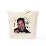 KeysDAN Logo and Face Tote Bag