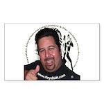 KeysDAN Logo and Face Rectangle Sticker 50 pk)