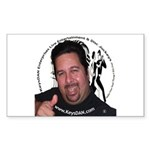 KeysDAN Logo and Face Rectangle Sticker 10 pk)