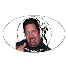 KeysDAN Logo and Face Oval Decal