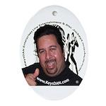 KeysDAN Logo and Face Oval Ornament