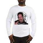 KeysDAN Logo and Face Long Sleeve T-Shirt