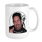 KeysDAN Logo and Face Large Mug