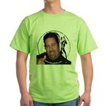 KeysDAN Logo and Face Green T-Shirt