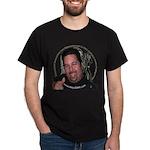 KeysDAN Logo and Face Dark T-Shirt