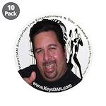 "KeysDAN Logo and Face 3.5"" Button (10 pack)"