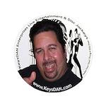"""KeysDAN Logo and Face 3.5"""" Button"""