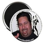 "KeysDAN Logo and Face 2.25"" Magnet (10 pack)"