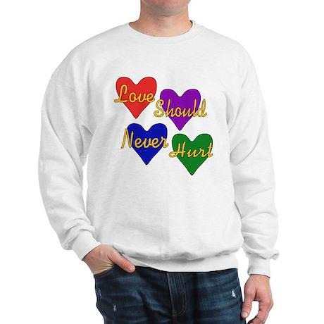 End Domestic Violence Sweatshirt