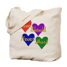 End Domestic Violence Tote Bag