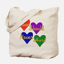 End Domestic Violence Tote Bag