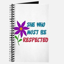 She Who Must Be Respected Journal