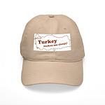 Turkey Makes Me Sleepy! Cap