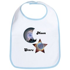 MOON AND STARS Bib