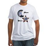 MOON AND STARS Fitted T-Shirt