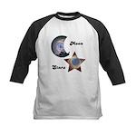 MOON AND STARS Kids Baseball Jersey